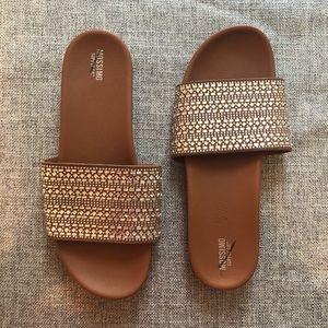 Mossimo Daylan Bejeweled Slide Sandals